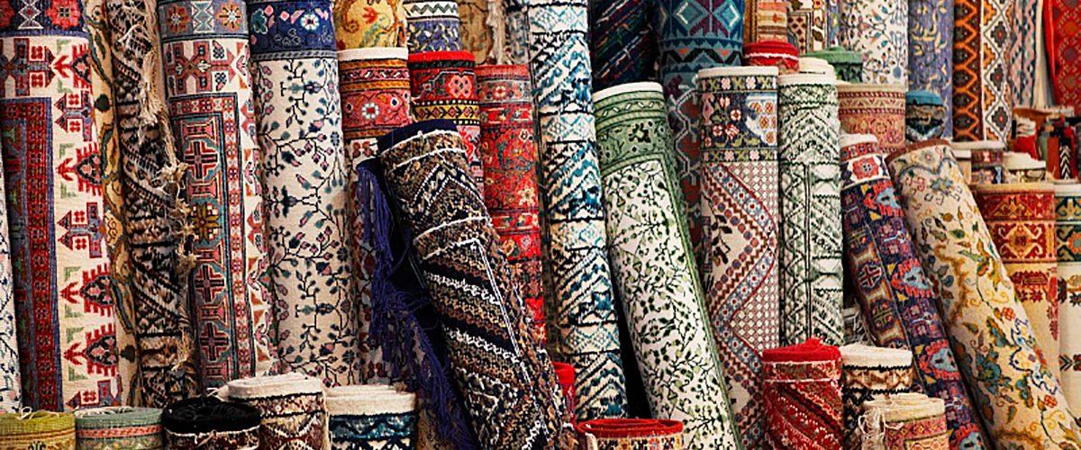 Ковры и текстиль на рынке Садовод в Москве