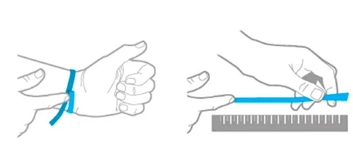 Как измерить браслетов