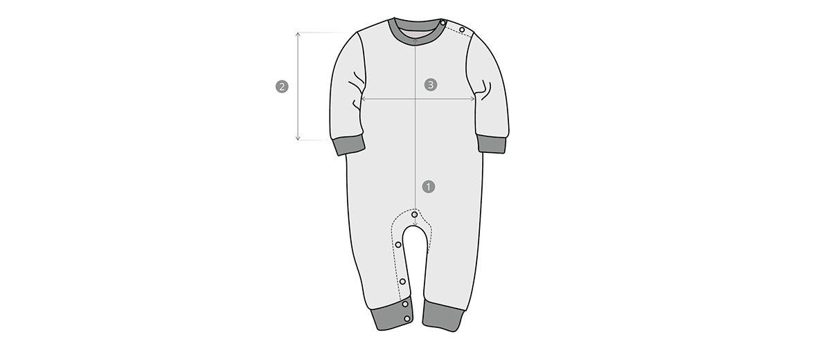 Как измерить одежду для малышей
