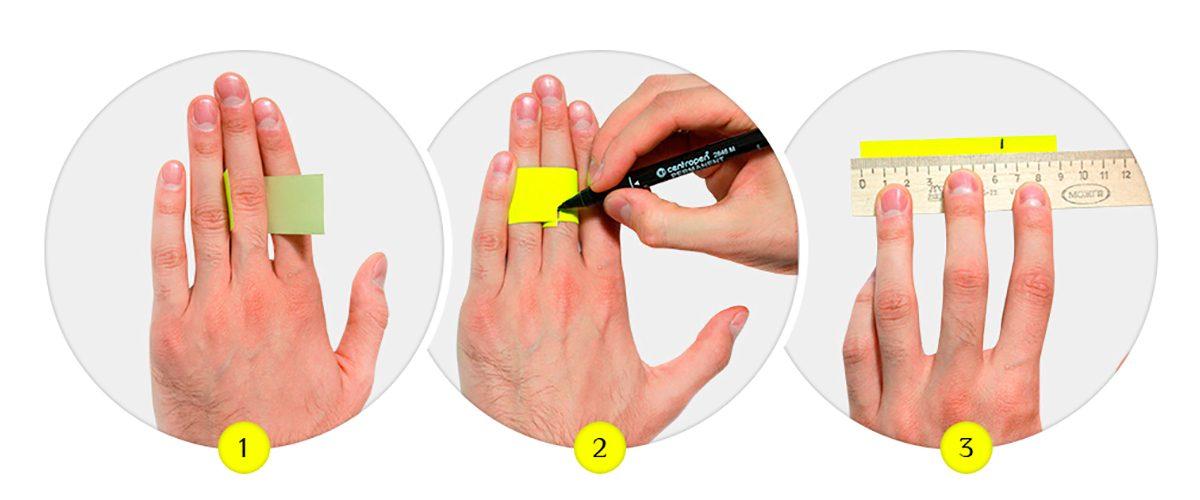 Как измерить кольца