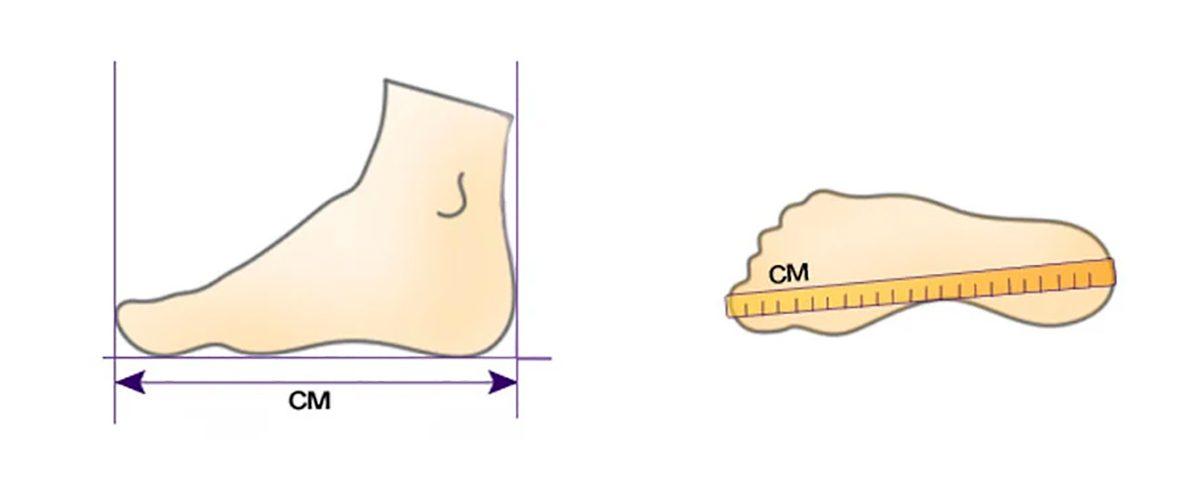 Как измерить мужскую обувь